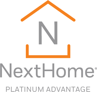 NextHome Platinum Advantage - Vertical Logo
